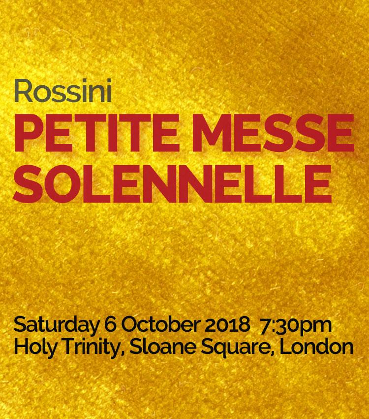Rossini <br>Petite Messe Solennelle